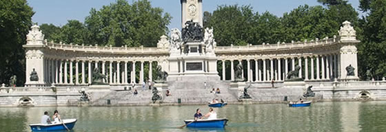 Parque del Retiro - Madrid - Spain